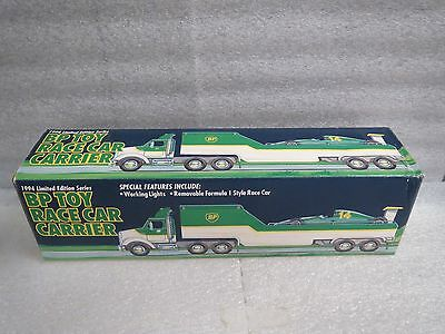BP 1994 RACE CAR CARRIER and RACE CAR - NEW IN BOX
