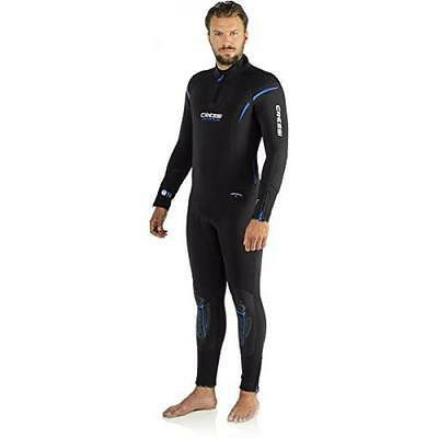 Cressi Lontra Plus All-In-One Man - Traje Para Hombre, Negro/azul, L (4) 8506