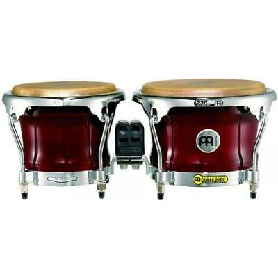 Meinl Percussion Fwb400Cr - Bongo De Madera Color Rojo 9498