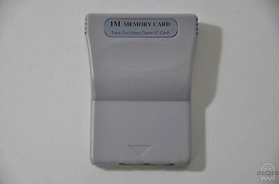 1MB MEMORY CARD - PlayStation - Sony - PS1 - Cleaned & Tested,
