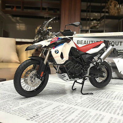NEW 1/10 Autoart Diecast BMW F800 GS Motorcycle model 30th Annivesary Ed 10008
