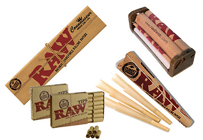 Raw Rizla Rolling Paper Set Rolling Machine Filter Tips Pre Rolled Cone Smoking