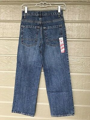 Old Navy Regular Denim Jeans Adjustable Waist Size Boys 12 Slim NWT