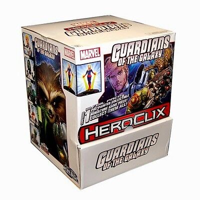 Wizkids  Marvel Hero Clix Guardians Of The Galaxy Gravity Feed Booster