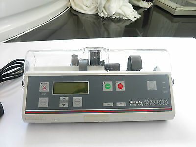 Graseby 3300 Pca Syringe Infusion Pump Driver Neonatal Medical Administration Uk