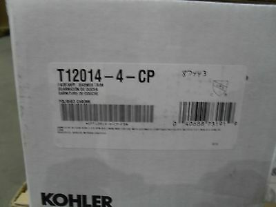 Kohler K-T12014-4-CP Fairfax Rite temp Shower Faucet Trim Chrome