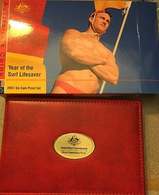 2007 Australian Year Of The Surf Lifesaver Proof Set