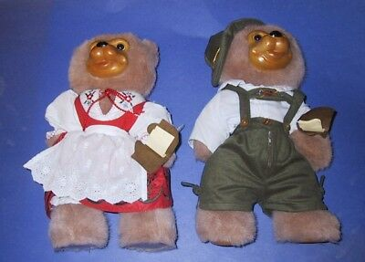 Signed Robert Raikes 1995 Bavarian Set Hans and Inga