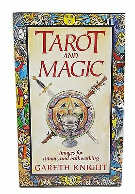NEW 1991 VTG Tarot & Magic Images For Rituals & Pathworking Gareth Knight