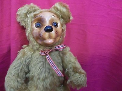 """Artist Proof 2000 Curley Bear Hand Signed No Tag 15"""""""
