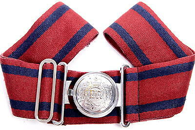 British Army Buckle Corps Of Royal Engineers Size - 90 Cm