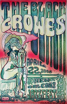 THE BLACK CROWES New Orleans 2005 Concert POSTER