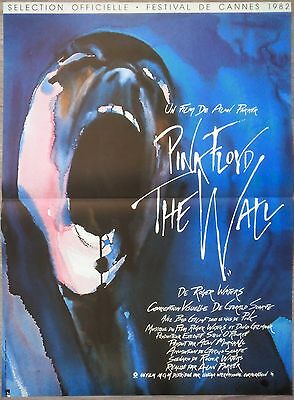 PINK FLOYD THE WALL Affiche Cinéma pliée 55x40 Movie Poster Alan Parker R1990