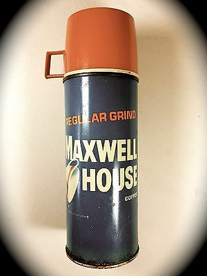 1960's Vintage Maxwell House Coffee Thermos