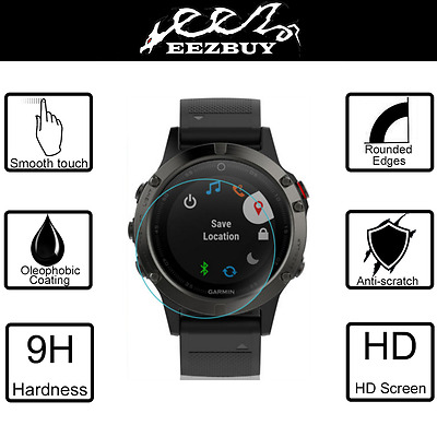 9H Tempered Glass Screen Protector Saver For Garmin Fenix 5