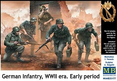 MB35177 1/35 MASTER BOX German Infantry WWII era Early period