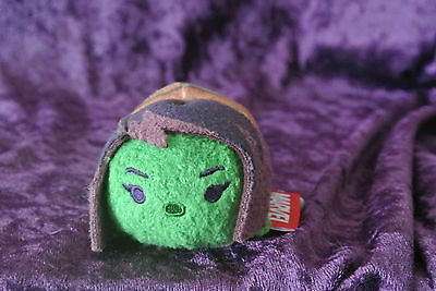 2016 Disney Store US Tsum Tsum Gamora Guardians of The Galaxy Mini Size 3 1/2""