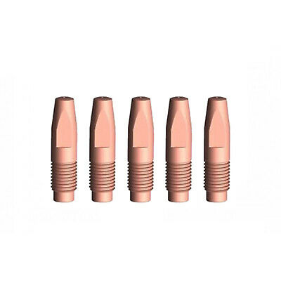MIG Contact Tips - 1.2mm FRONIUS Style- 5 pack - M6 x 6 x 1.2mm-AL2300 - AW2500