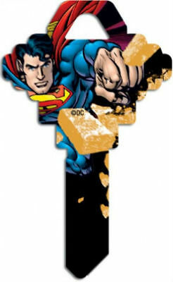 SUPERMAN House Key Blank SC-1 DC COMICS MARVEL ACTION Schlage