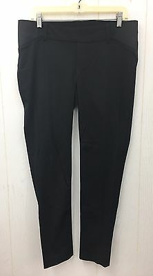 MATERNITY Skinny Fit Black Career Slacks Under Belly OLD NAVY Sz 8