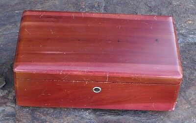 Vintage Lane Miniature Cedar Chest & Key  Markey Elliot  Saginaw, Michigan