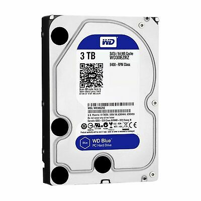 "Western Digital WD Caviar Blue 3TB 3.5"" Internal Desktop Hard Drive SATA 6Gb/s"
