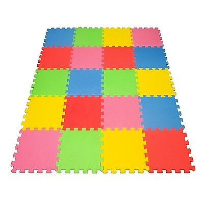 Angels 20 XLarge Foam Mats Toy ideal Gift -Colorfull Tiles Multi Use Create &...