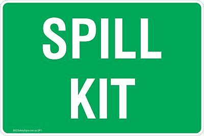 Spill Kit Safety Signs & Stickers