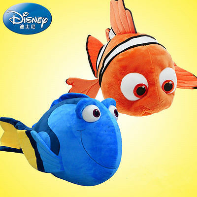 2Pcs Movie Finding Nemo Dory 2 Toy Cute Plush Soft Doll Kids Children Baby Gift