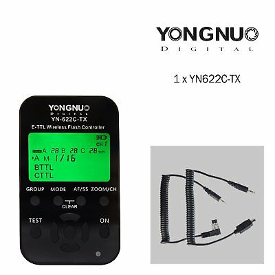 Yongnuo YN-622C-TX LCD Wireless E-TTL Flash Controller Trigger for Canon Camera