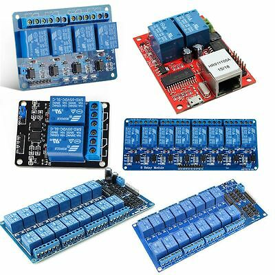 2/4/8/16 Channel 5V Relay Board Module W/ Optocoupler for Arduino PiC ARM AVR
