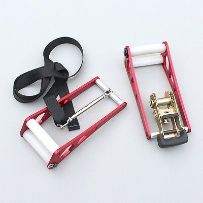 Bow Press Stainless Steel Archery Accessory Tool Red for Adjusting Compound Bow