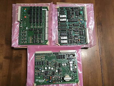 Telecor Cards Console Circuit Board Intercom Pa Paging Cpu-1 Abu-3 Cbu-2 Working