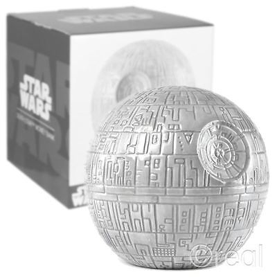 New Star Wars Ceramic Death Star Money Box Piggy Bank Retro Gift Box Official