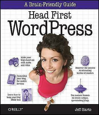 Head First WordPress: A Brain-Friendly Guide to Creating Your Own-ExLibrary