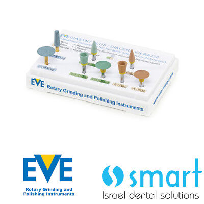 Dental Eve Diasynt Plus diacera ra 322 ceramic polishing diamond zirconia oxide