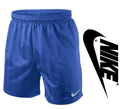 Nike Stay Cool Football Soccer Mens Shorts Blue 2XL
