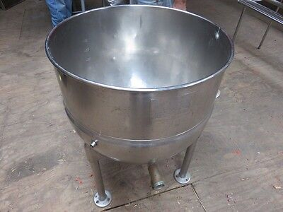 Groen US Army 40 Gallon Stainless Steel Steam Jacketed Stationary Kettle