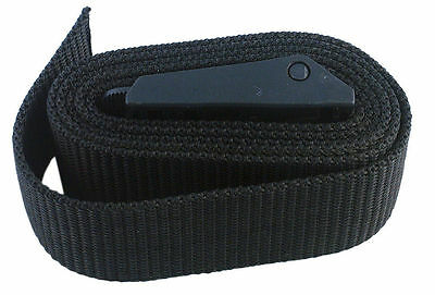 Scuba Diving Weight Belt with Buckle, Black