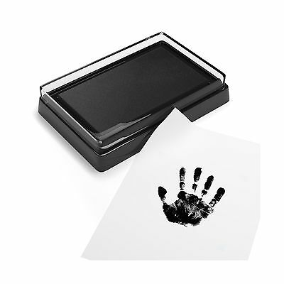 Baby Safe Print Ink Pad Non-Toxic Baby Footprint and Handprint Kit Keepsake