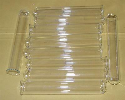 Test Tubes Glass Rimmed 150mm x 16mm Glass Pack of 5 Laboratory Lab