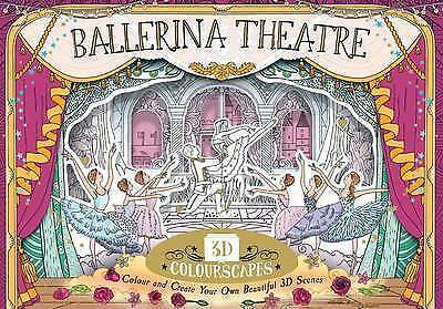 3D Colorscape Ballerina Theatre, Anna Brett, New Book