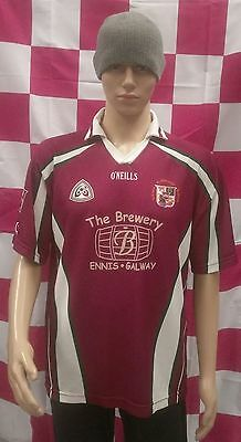University College Galway UCG Match Worn GAA Gaelic Football Jersey Adult Medium