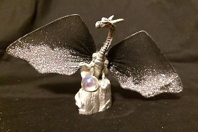Gallow pewter winged dragon