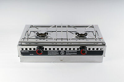 Alcohol Fueled Cooker Dometic ORIGO 3000 2-Burner Free Standing Model Camping