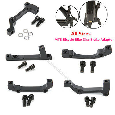 MTB Bicycle Bike Disc Brake Mount Adaptor for Front Caliper PM to IS All Sizes