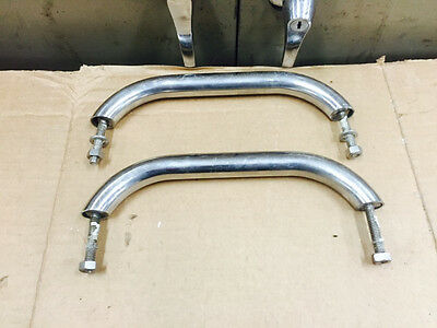 "* Lot of 2 Stainless Steel 10 INCH Grab Rail Handle 10"" SS"