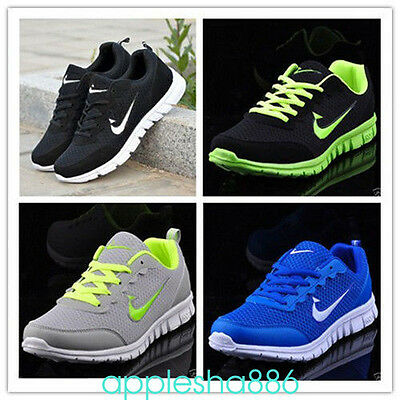 2017 Mens And Boys, Sports Trainers Running Gym Sizes Uk5.5-11.5 Fashion