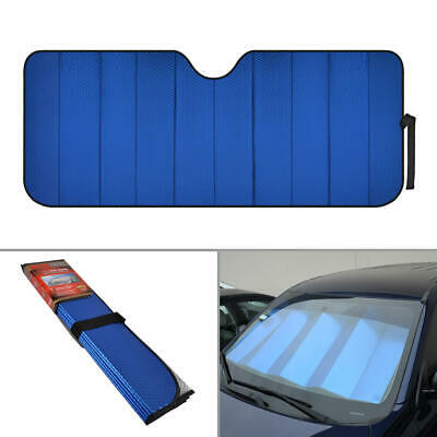 Reflective Blue Foil Car Sun Shade Standard Reversible Folding Windshield Cover