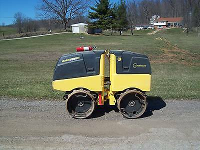 """2012 Bomag Bmp8500 Vibratory Remote Controlled Trench Roller """"only 521 Hours"""""""